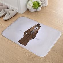 Homing New Arrive Módní zvířecí vzorek Dveřní rohože pro vchodové dveře Koupelna Maty Roztomilé domácí koberečky pro obývací pokoj Decor