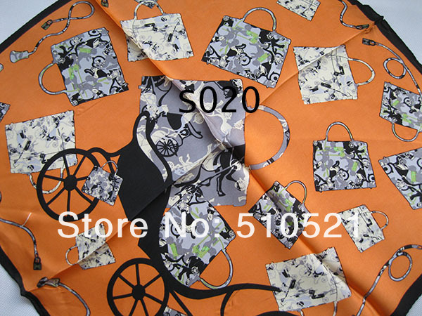 hot sale 100% silk scarf     office lady fashin chain scarf  wholesale mix order free shipping