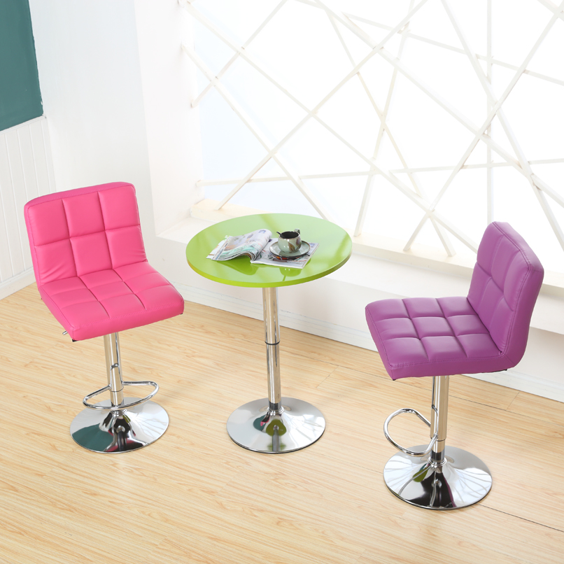 Promotion  Simple Fashion Bar Chair Recreational Chair Lifting Chairs Bar Stool Soft Comfortable  Free Shipping