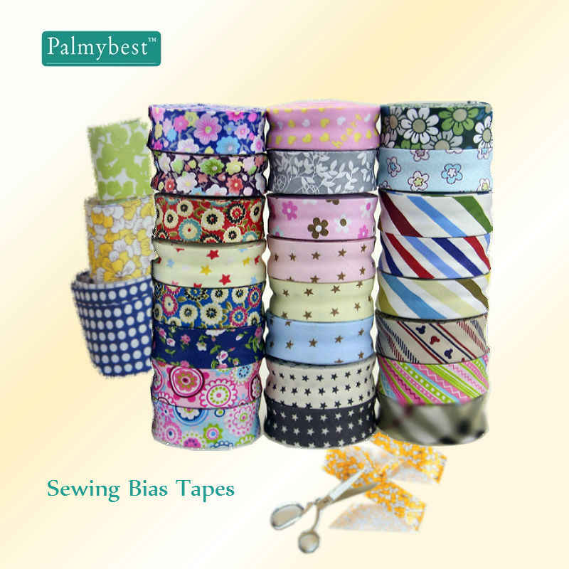Extra Width Ironed Single fold Cotton bias Tape//bias Binding for Garment Craft Sewing DIY Brown 1 Ahaday 25mm