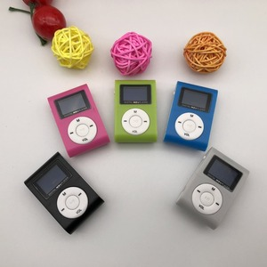 Image 4 - Lecteur MP3 Portable de petite taille Mini écran LCD lecteur MP3 lecteur de musique Support 32GB TF carte baladeur lettore lecteur mp3 usb