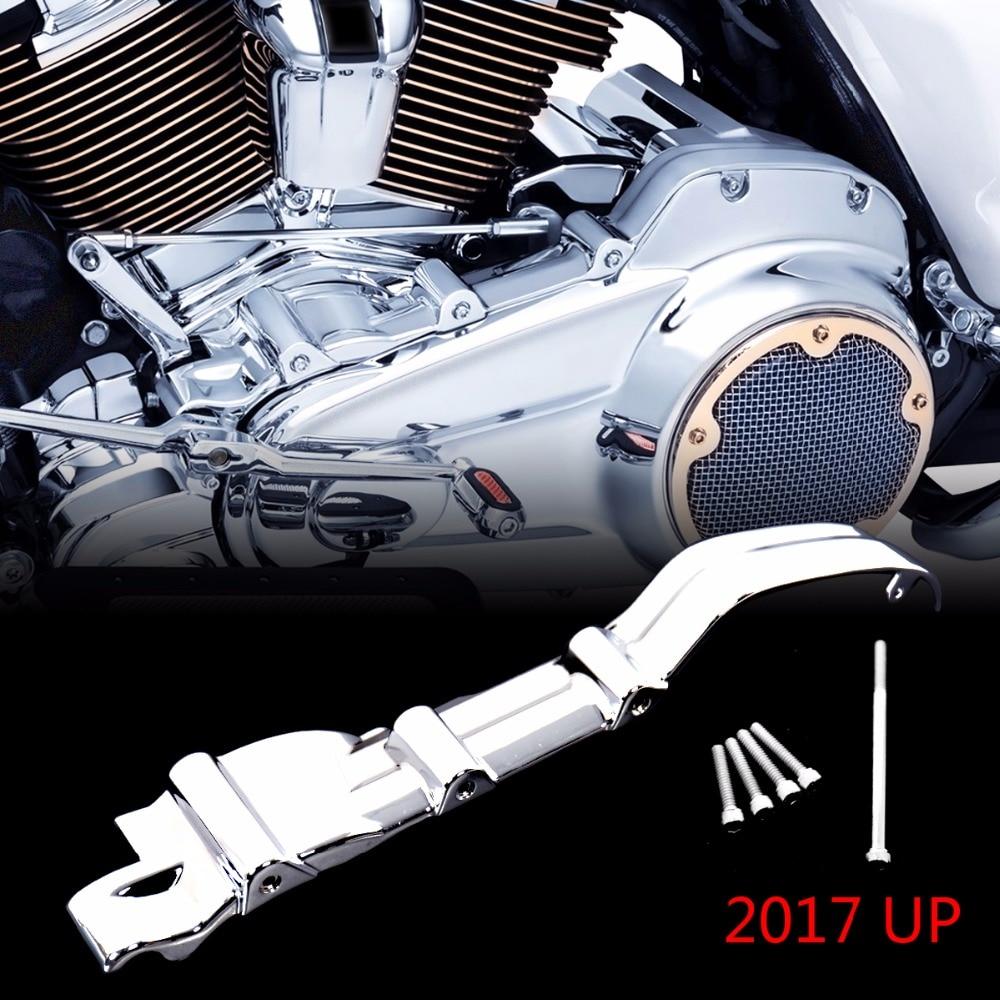 Chrome Inner Primary Accent Cover For Harley Touring Street Glide Road King FLHX FLH T FLHR