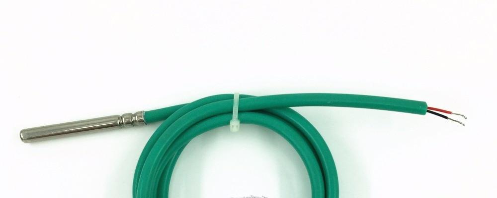 6*50 мм NTC термистор 5 к 10 к 50 к 100 к водонепроницаемый датчик температуры B 3470 3950 точность 1% датчик температуры пользовательский NTC зонд