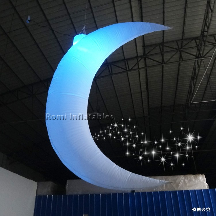 LED lighting Inflatable moon