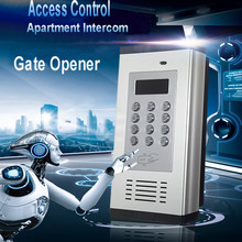 GSM 3G Access Control & Apartment Intercom Gate Opener by Phone Call & SMS Support RFID card K6(China)