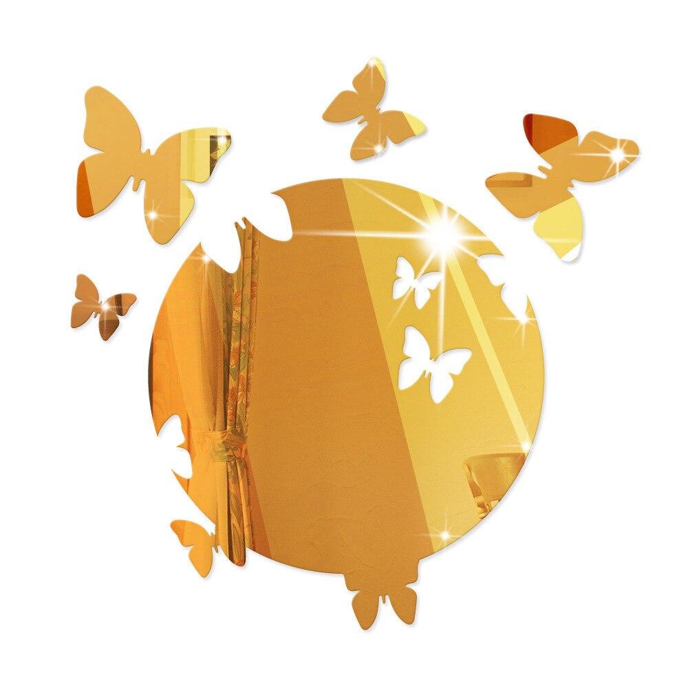 Aliexpress.com : Buy 3D mirror Oval Butterfly Modern Acrylic Wall ...