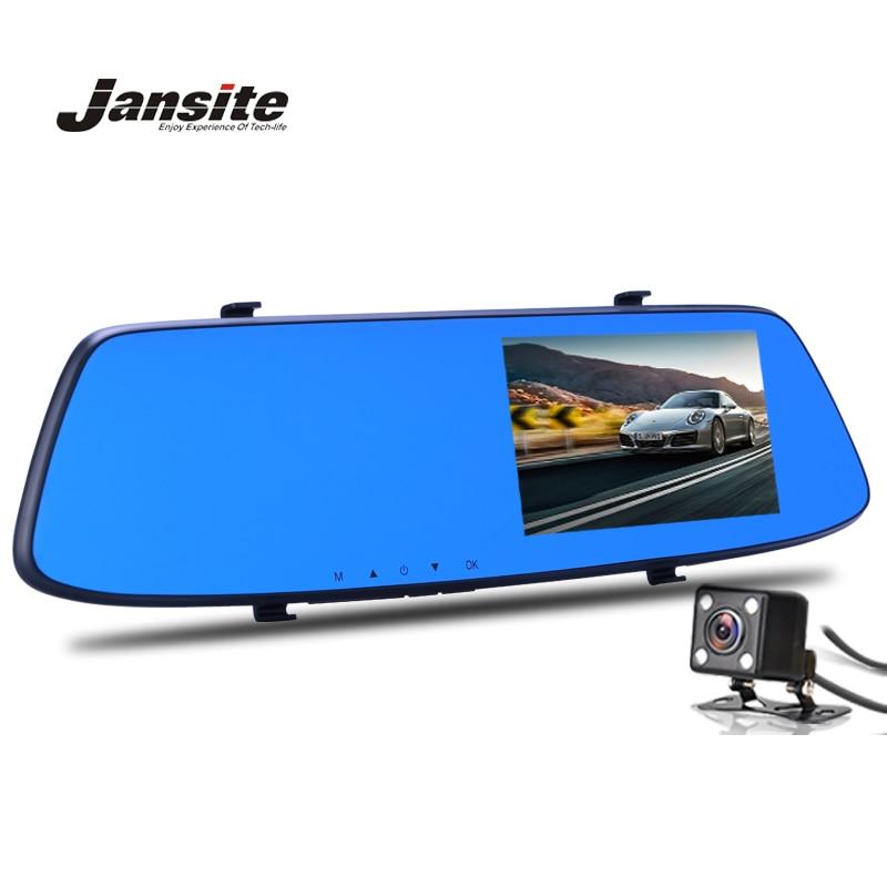 Mais novo de Visão Noturna Da Câmera Do Carro Dvr Revisão Espelho Azul Digital Video Recorder Auto Registrator Camcorder Traço Cam Full HD 1080 P