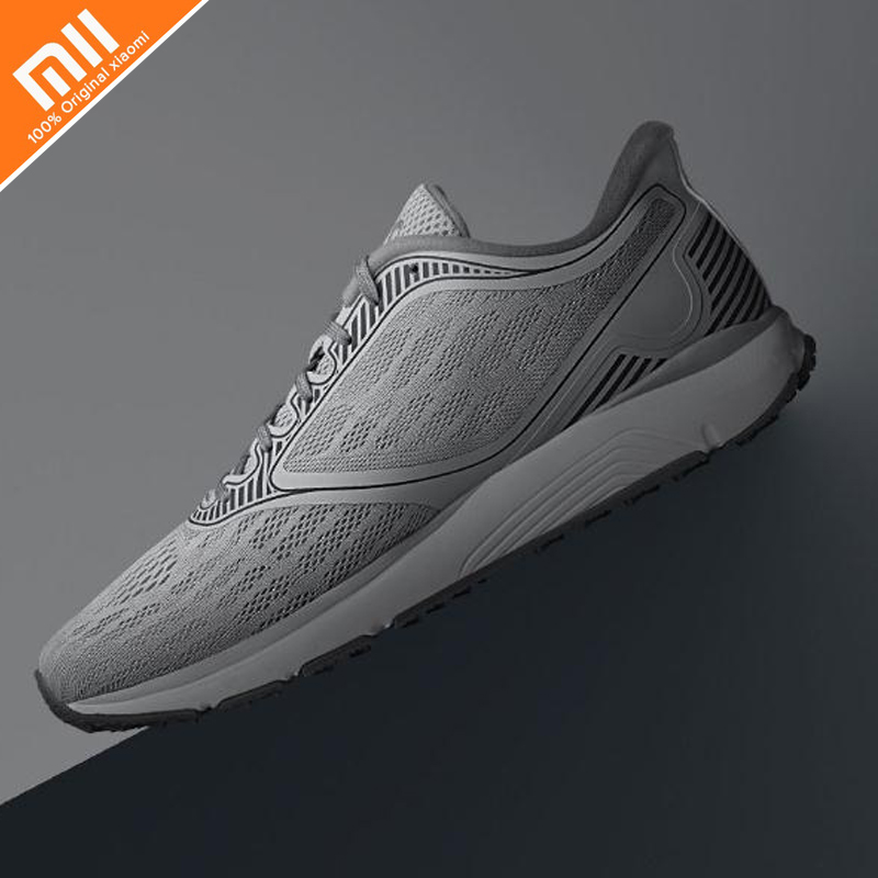 Original Xiaomi Amazfit Antelope Light Outdoor Running Shoes Smart chip Waterproof smart shoes lights shoes HOT xiaomi smart shoes mijia running shoes
