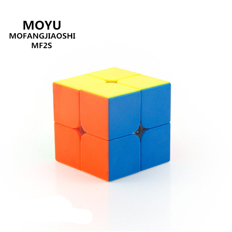 MOYU MF2S mofangjiaoshi 2X2X2 font b MAGIC b font font b CUBE b font SPEED POCKET
