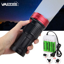 3 Mode Powerful Lumens 10 LED lamp beads Flashlight high quality aluminum alloy 18650 flashlight цена