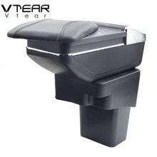 Vtear для Nissan Juke подлокотник коробка центральный магазин содержание коробка Подстаканник Пепельница внутреннее украшение автомобиля-аксессуары для укладки 14-17
