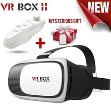 Glasses+bluetooth xiaozhai gamepad cardboard reality headset virtual google ii vr helmet