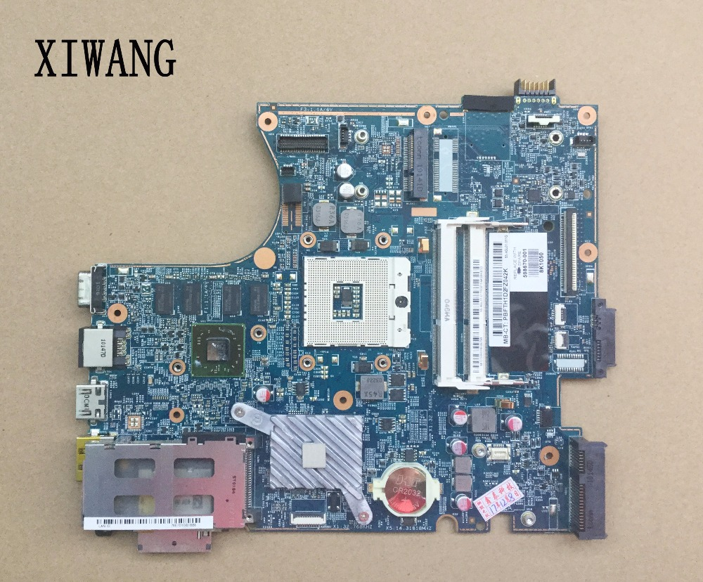 все цены на Free shipping For HP Probook 4720s 4520s Laptop Motherboard 628795-001 598668-001 633551-001 598670-001 HD5470 512MB
