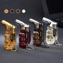 Compact Butane Jet Lighter Torch Turbo Pipe Lighter Mini Spray Gun Cigar Lighter Windproof 1300 C No Gas