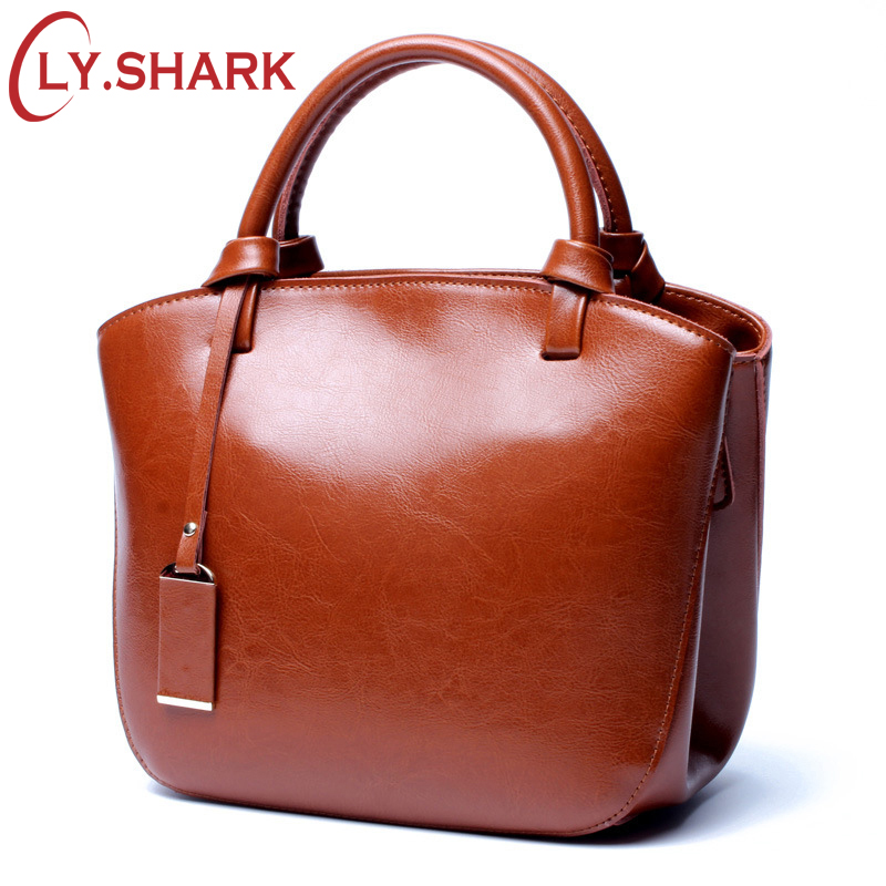 LY.SHARK Luxury Handbags Women Bags Designer Brand Genuine Leather Bag Women Leather Handbags Female Shoulder Messenger Bag 2018 brand luxury handbags female bag designer women leather bag female shoulder bag women messenger bags bucket tote with wide strap