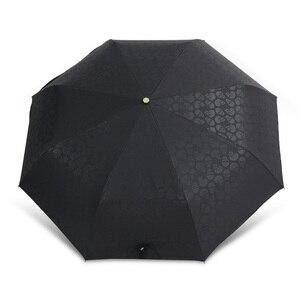 Image 5 - Creative Skull Handle Big Umbrella Men Automatic 3Folding Punk Retro Umbrella Rain Women High Quality Printed Umbrella For Gifts