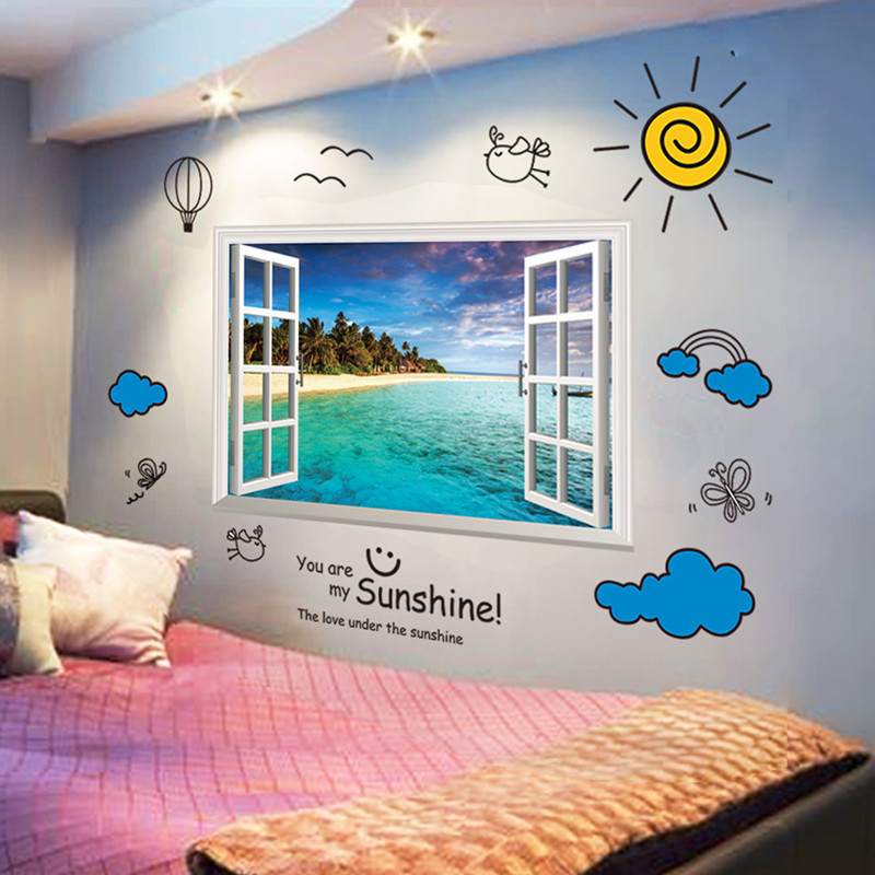 Creative personality 3D wallpaper baby bedroom living room self-adhesive wallpaper home decoration wall paper book knowledge power channel creative 3d large mural wallpaper 3d bedroom living room tv backdrop painting wallpaper
