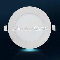 20 sztuk 18 w 24 w Led światła panelu płaskim ultra thin ściemniania led panel lampa Sufitowa wpuszczana 2835SMD kuchni łazienka oświetlenie wewnętrzne