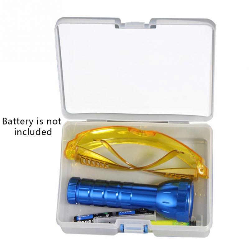 Auto Carro R134A R12 Ar Condicionado A/C Sistema De Teste De Vazamento Detector Kit 28 Lanterna LED UV Óculos de Proteção UV Corante Fluorescente