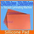 250*200 мм Силиконовые Силикагель Коврик для ОСА Вакуумный Ламинатор ЖК Ремонт Сенсорный Экран Сепаратор для iPhone Samsung