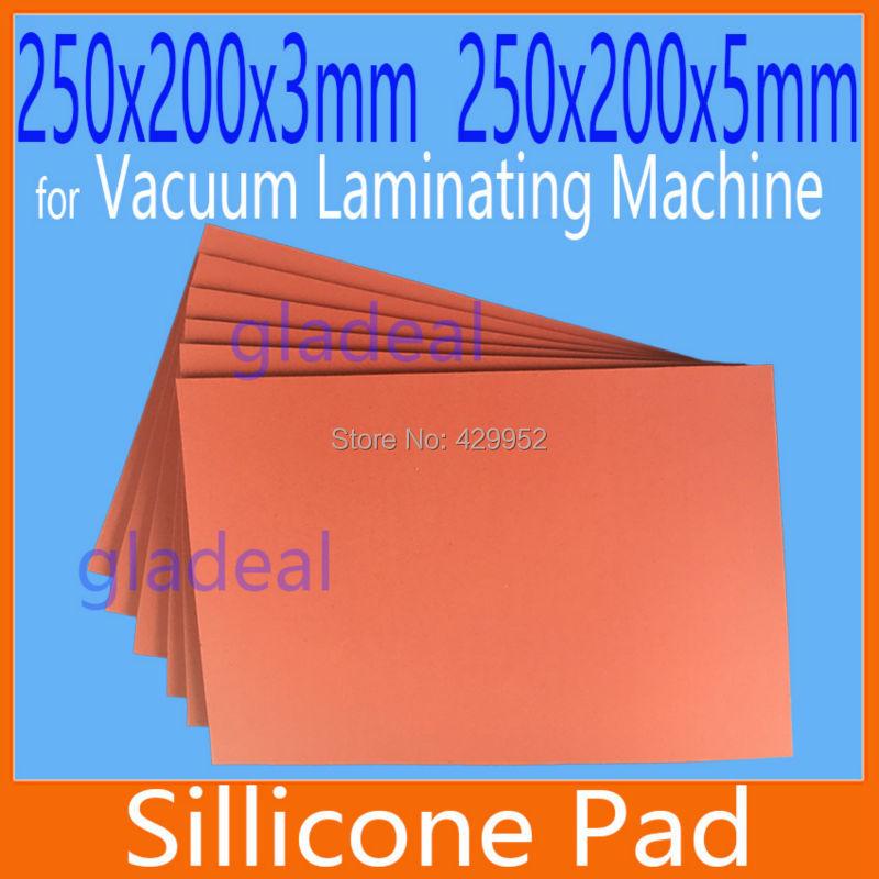 250*200mm silikon pad silica matte für oca vakuum laminieren maschine lcd touch screen repair separator für iphone samsung