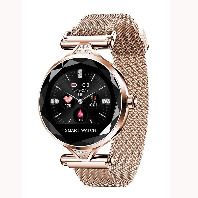 H1 Women Smart watch Girl Bracelet Wearable Device Bluetooth Pedometer Heart Rate Monitor smart band