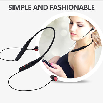 Bluetooth Wireless Headphone Stereo Sports Earbuds In-Ear Headset