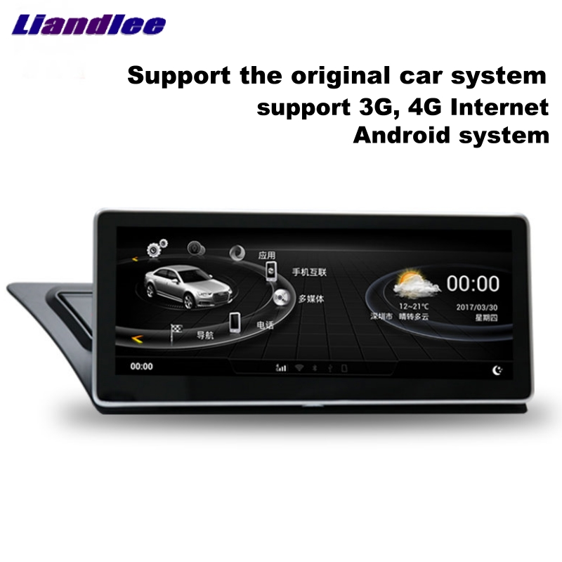 liandlee car multimedia player navi inch for audi a4. Black Bedroom Furniture Sets. Home Design Ideas