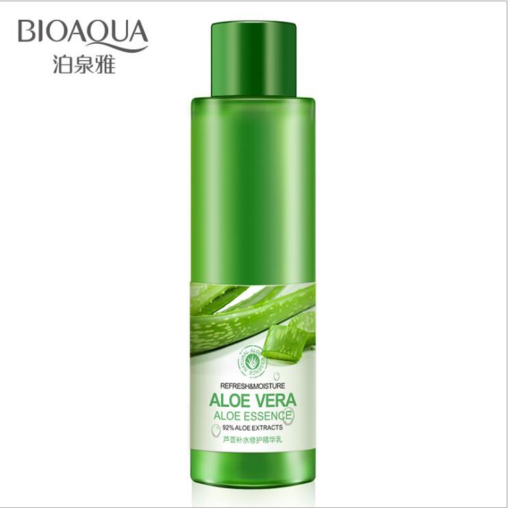 Korean Natural Face Toner Aloe Vera Gel VC Essence Skin Care Hydrating Moisturizing Vitamin C Lighten Pore Toner 120ml