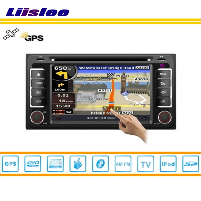 Liislee For Toyota Hilux Surf 2002~2009 Car Radio Audio Video Stereo CD DVD Player GPS Nav Map Navigation S160 Multimedia System