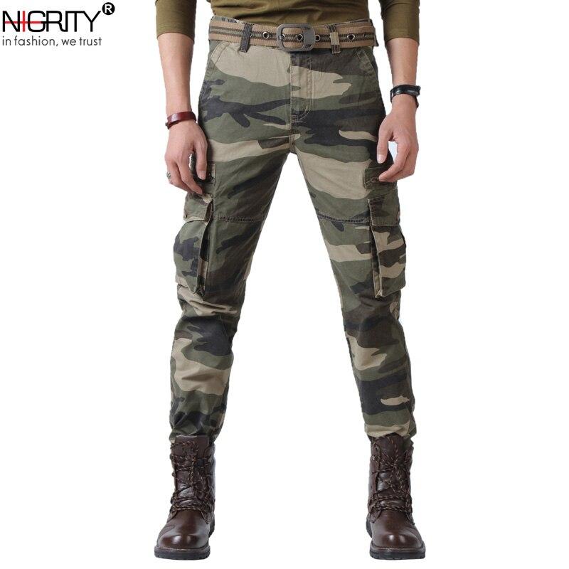 Jungen Kleidung UnermüDlich Nigrity Taktische Hosen Männlichen Camo Jogger Casual Plus Größe Baumwolle Hosen Multi Pocket Military Stil Armee Joggers Mens Hosen