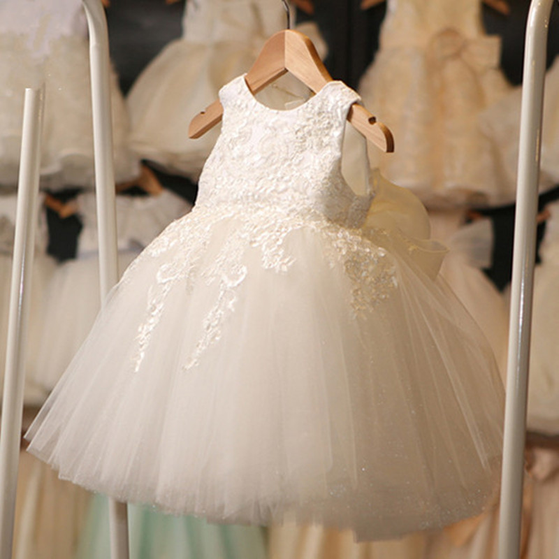 все цены на  Newest Summer Sequin flower girl vest dress baby girls birthday dress baptism christening party wedding tutu for infant princess  в интернете