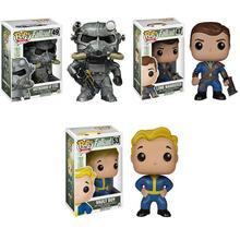 Funko Pop Anime Fallout 4 Collectible Model Toy PVC Movie Action Figure Toys for Friend Children Birthday Gift play arts kai street fighter iv 4 gouki akuma pvc action figure collectible model toy 24 cm kt3503