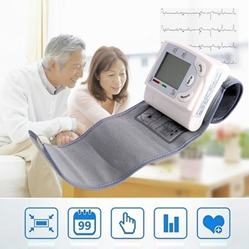 Hot item! Automatic Digital Wrist Blood Pressure Monitor Arm Meter Pulse Sphygmomanometer