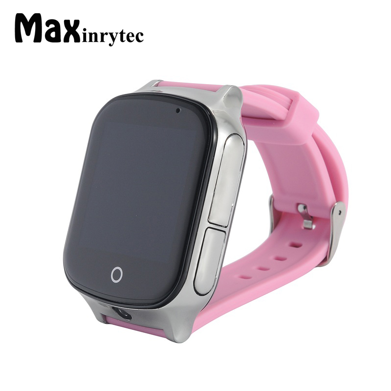 Maxinrytec 3G A19 LBS+GPS+WIFI Location Smart Baby Watch SOS Call Monitor Children and Kids Tracker Smartwatch support SIM Card