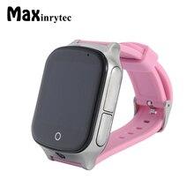 Maxinrytec 3G A19 фунтов + GPS + WI-FI местоположение смарт-детские часы sos-вызов Мониторы детей и малышей трекер SmartWatch поддержка sim-карты
