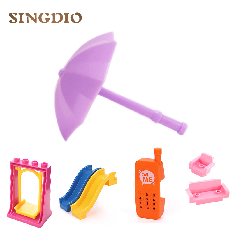 SINGDIO House Building Blocks 2017 New Self-locking Bricks Baby Enlighten educational Toy for Children compatible with duplo educational diy toys for children building bricks for girl restaurant self locking bricks compatible with lego