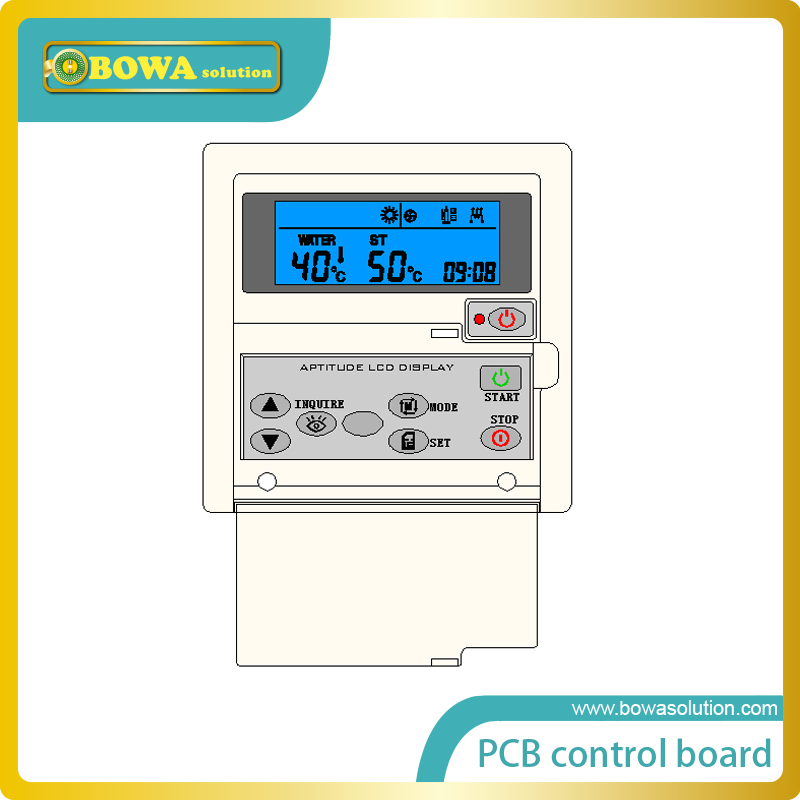 Air Source Heat Pump Water Heater board heart picture - more detailed picture about pcb control