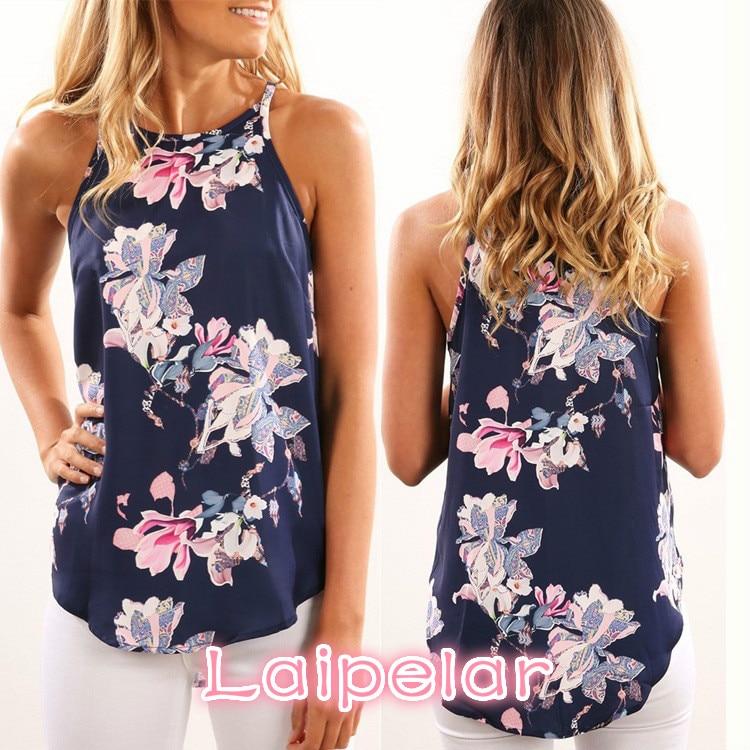 Women Blouses 2018 Casual Elegant Floral Blouse Slim Sleeveless Work Wear Blusas Feminina Tops Shirts Plus size Laipelar in Blouses amp Shirts from Women 39 s Clothing