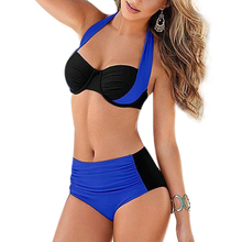 Women swimwear new strappy bikini sexy high waist swiming suits Brazil feminino swimsuit
