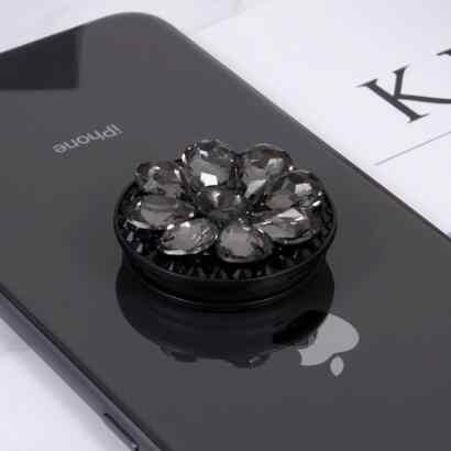 Cho Iphone 11 Pro Max X XS Max XR Case Cao Cấp Lấp Lánh Kim Cương Cho Iphone 6 6S Plus 7 8 Plus 3D Chân Đỡ Điện Thoại