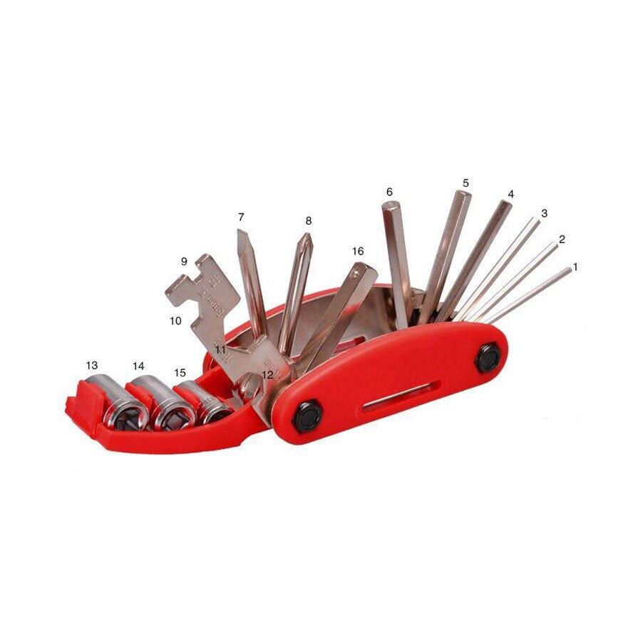 19 in 1 Hex Key Screwdriver Wrench Bicycle Bike Tools Multi Repair Tool KitFO