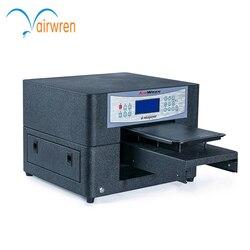 2019 nowa promocja produktu Airwren czarny Haiwn-t400 cyfrowy maszyna do druku na tkaninach A4 drukarki dtg
