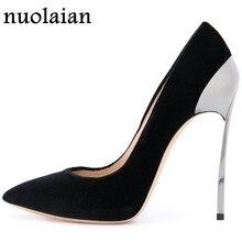 e2bd7e6ac9 Deslizar Sobre As Mulheres Sapatos Sexy Sandálias Da Moda de Design Da  Marca Mulher Femme Saltos altos Das Senhoras Sapatos de S..