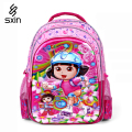 The Dora 5D Pupils Backpack Children School Bag for Girl Cartoon Schoolbag Student School Backpack Kid Mochila Infantil