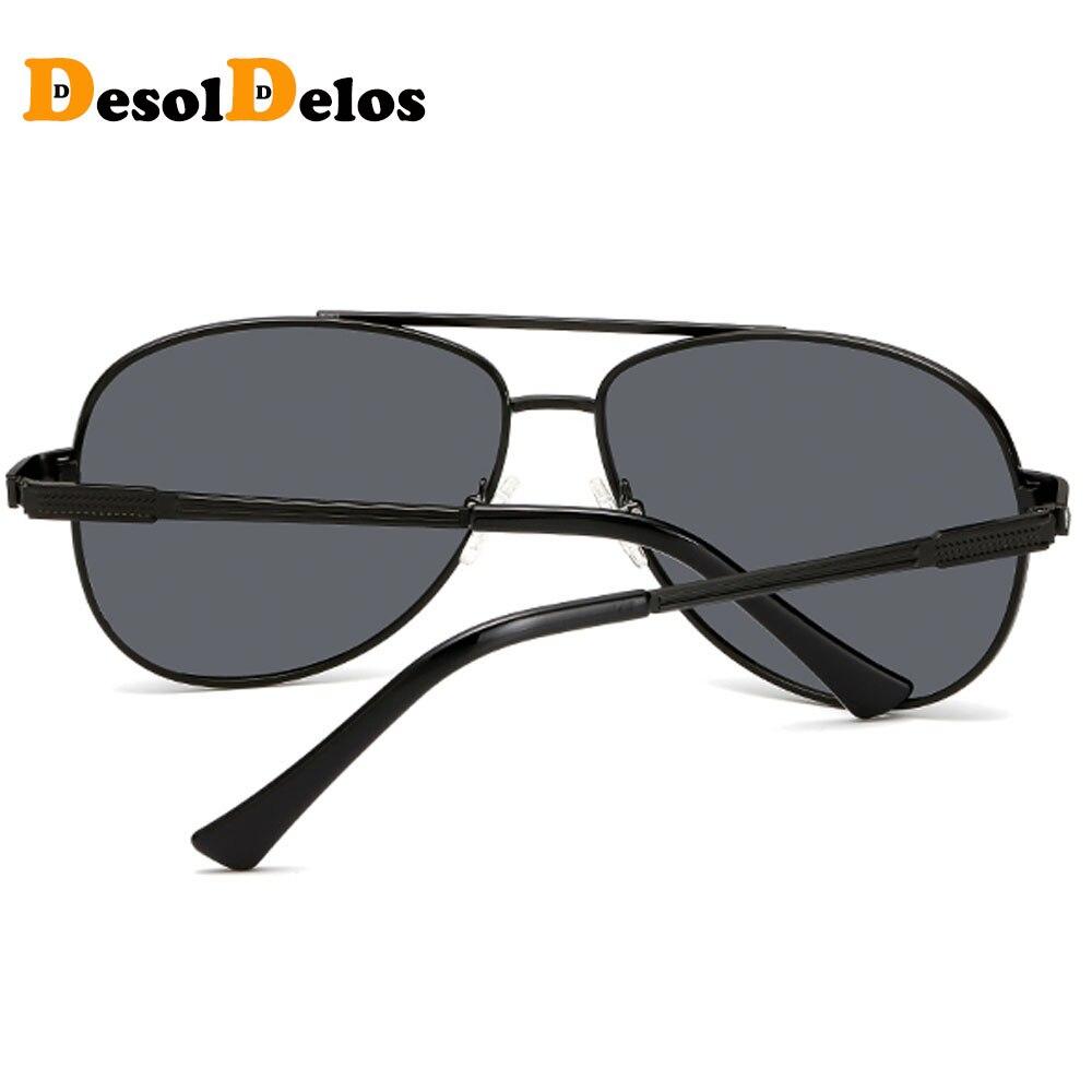 DesolDelos Men HD Polarized Sunglasses Women Metal Frame Driving High Quality Goggles Brand Design Male Pilot Sun Glasses HH01 in Men 39 s Sunglasses from Apparel Accessories