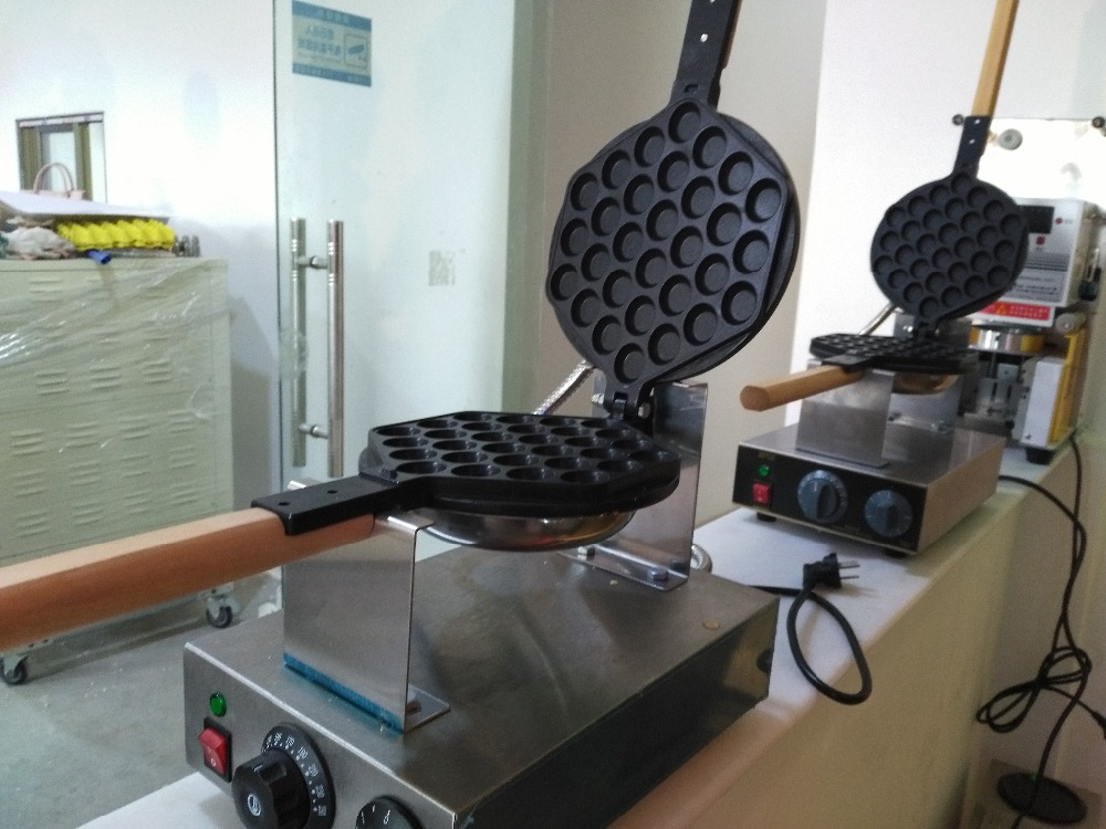 2Commercial-Electric-Egg-Waffle-Maker-Egg-Puff