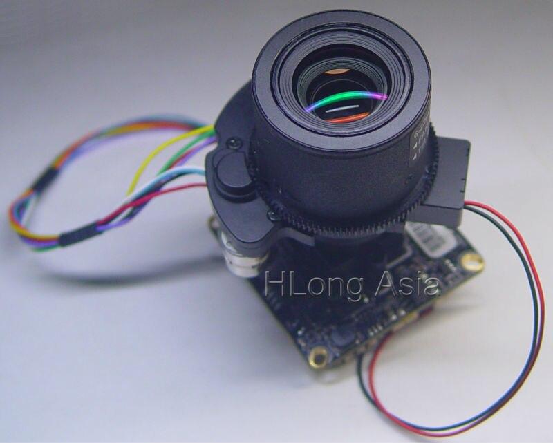 """IPC (1080 P) 6 22mm Gemotoriseerde Zoom & Auto Focal LEN 1/2. 8 """"SONY CMOS IMX322 Hi3516C CCTV IP camera module board + LAN kabel-in Beveiligingscamera´s van Veiligheid en bescherming op AliExpress - 11.11_Dubbel 11Vrijgezellendag 1"""