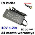 19V 4.74A 90W 5.5*2.5MM Replacement For Toshiba/Lenovo/Asus/Benq P300 L755 P305D Laptop AC Charger Power Adapter