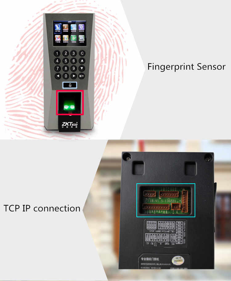 Detail Feedback Questions about ZKTeco F18 Access Control Time